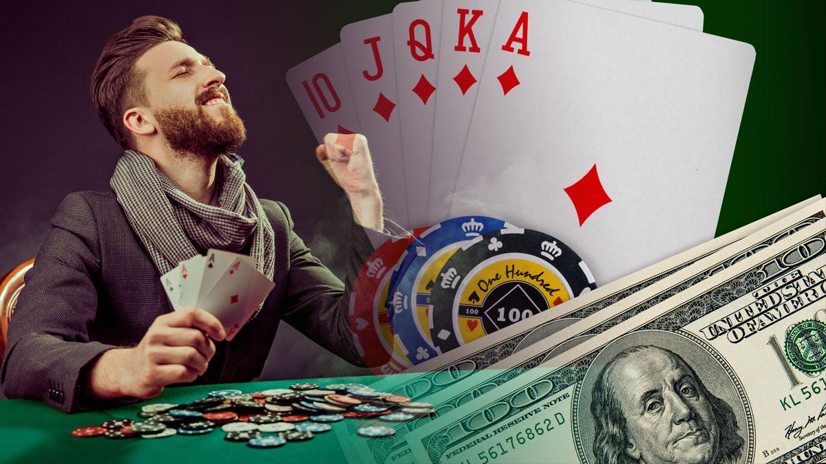 Winning Poker Player